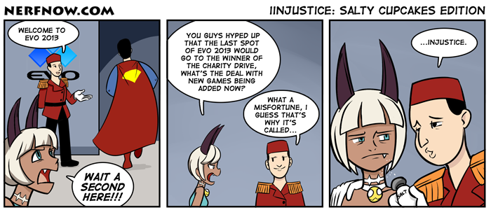 Injustice: Salty Cupcakes Edition