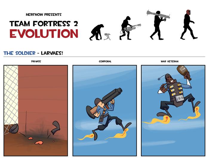 Soldier Evolution
