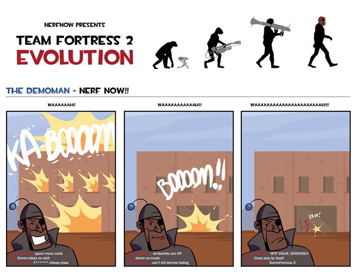 Demoman Evolution
