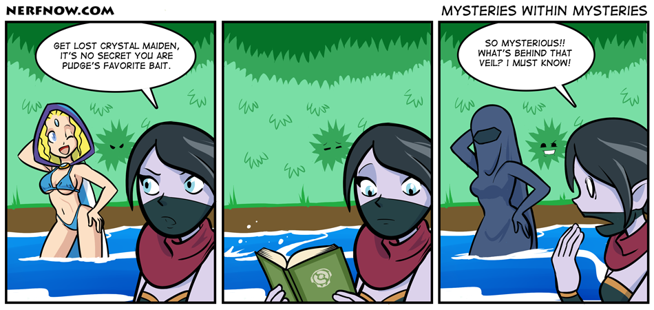 Nerf Now Mysteries Within Mysteries