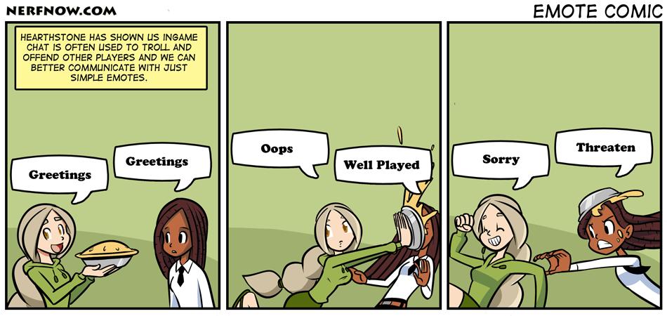 Emote Comic
