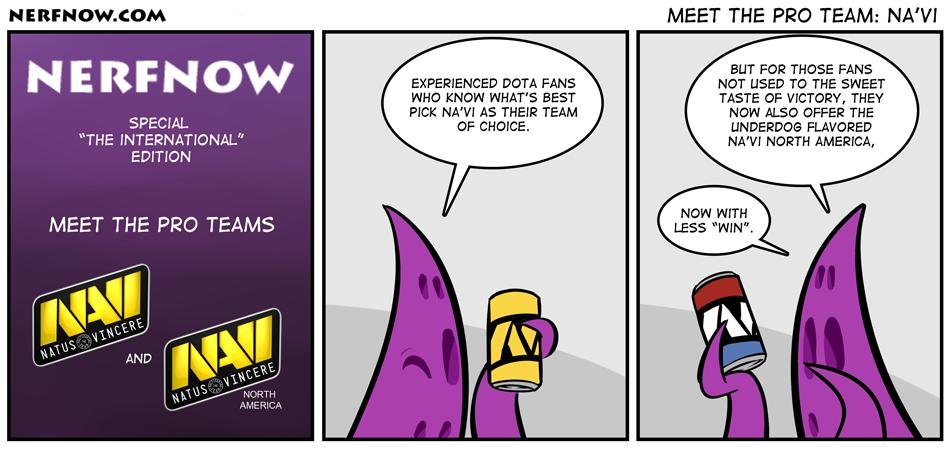 Meet The Pro Team: Na'Vi