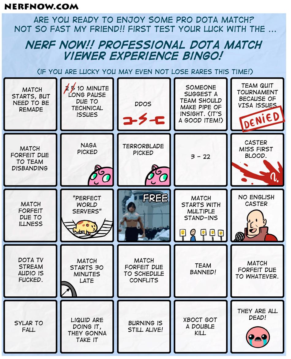 Dota Bingo