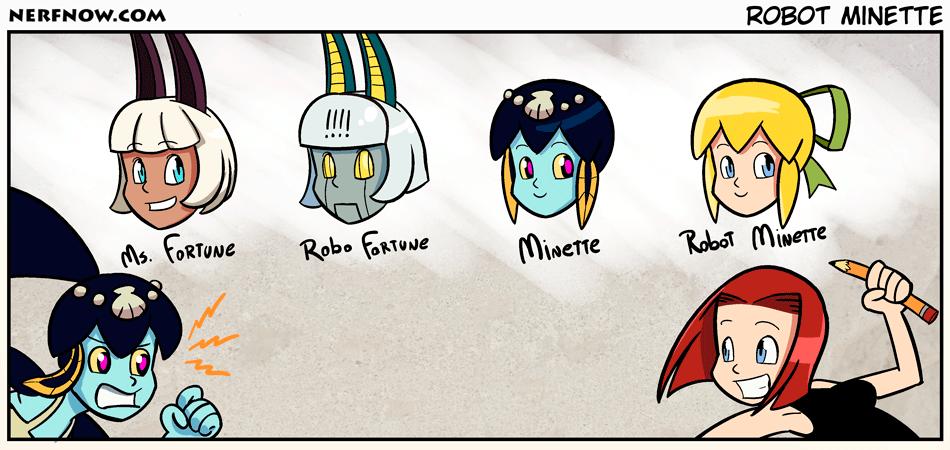 Robot Minette