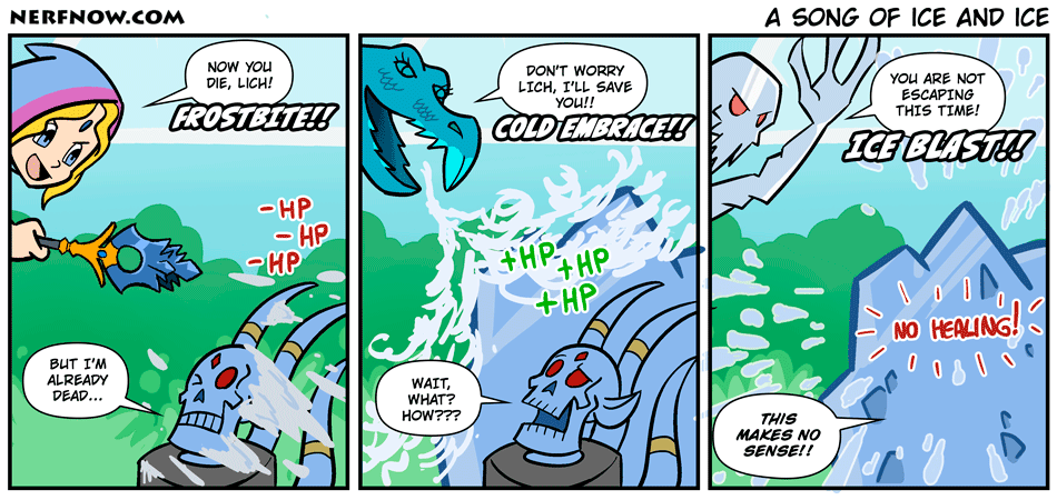 A Song of Ice and Ice
