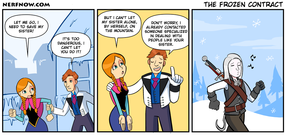 The Frozen Contract