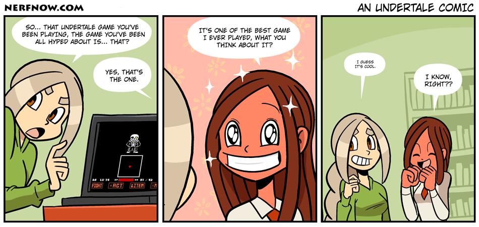 An Undertale Comic