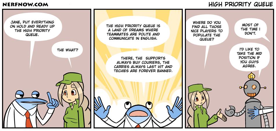 High Priority Queue