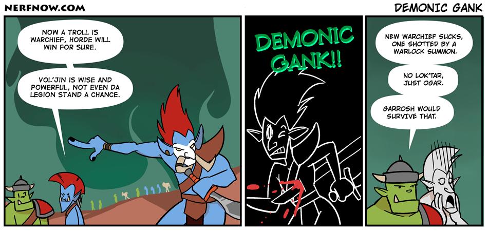 Demonic Gank