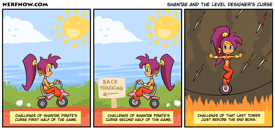 Shantae And The Level Designer's Curse