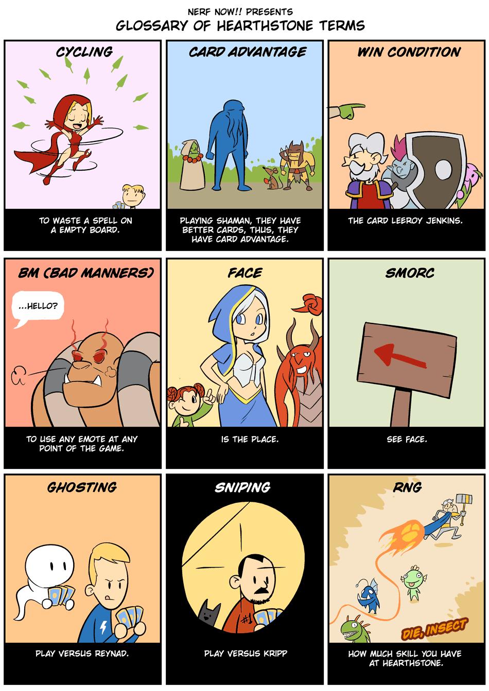 Hearthstone Glossary