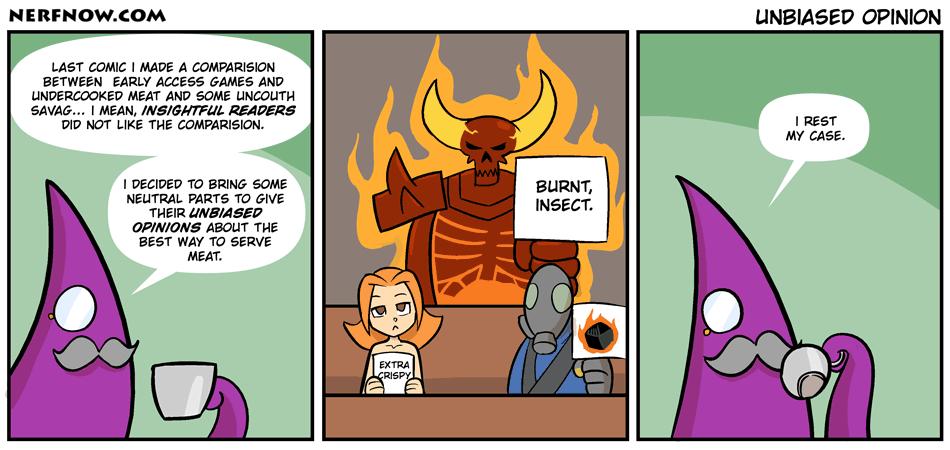 Unbiased Opinions