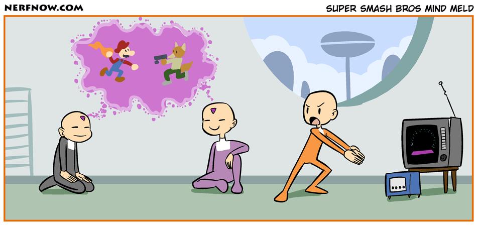 Super Smash Bros Mind Meld