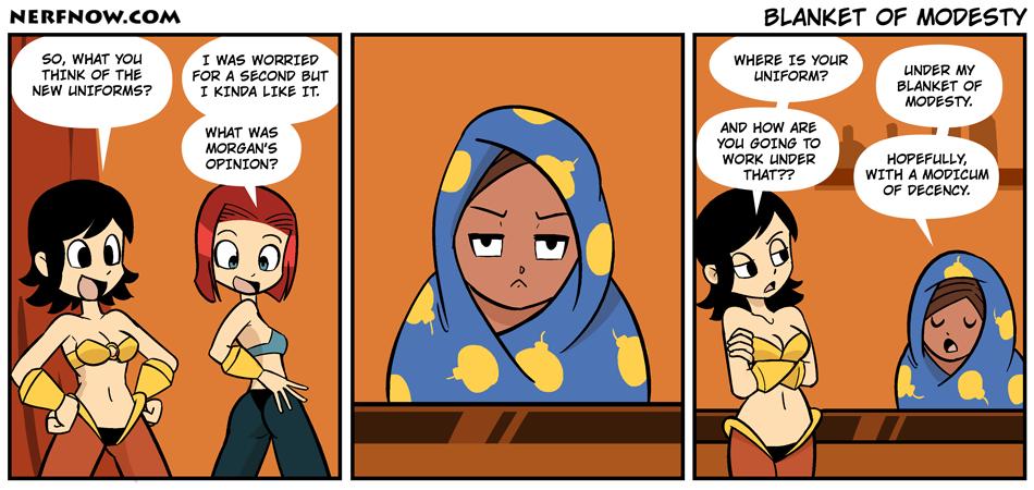 Blanket of Modesty