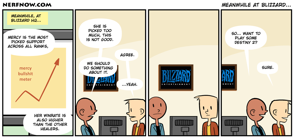 Meanwhile at Blizzard...