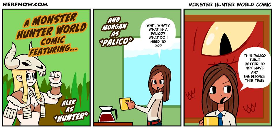 Monster Hunter World Comic