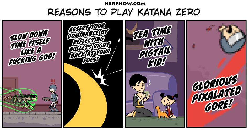 Reasons to Play Katana Zero