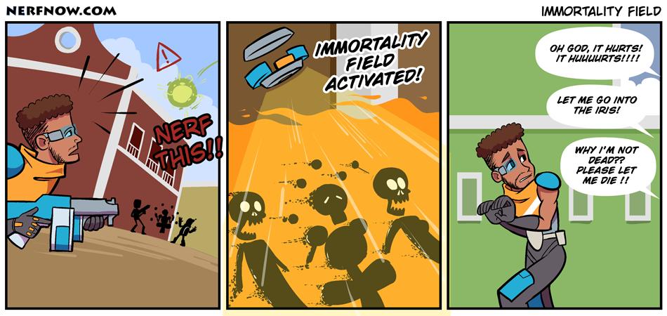 Immortality Field