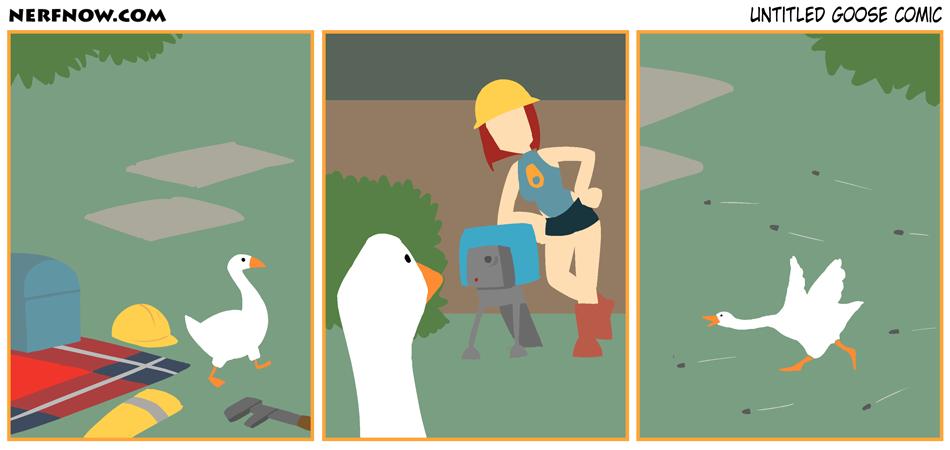 Untitled Goose Comic