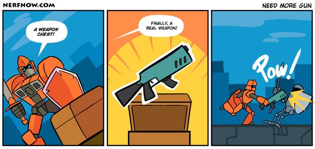 Need More Gun