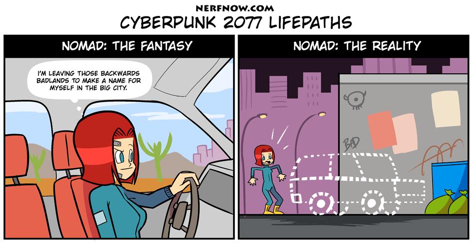 Lifepath: Nomad