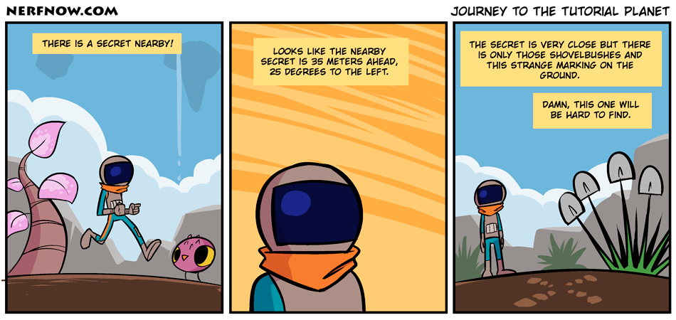 Journey To The Tutorial Planet