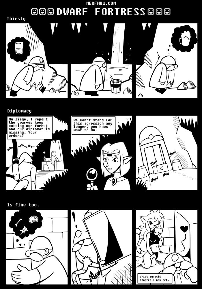 Dwarf Fortress 1/2