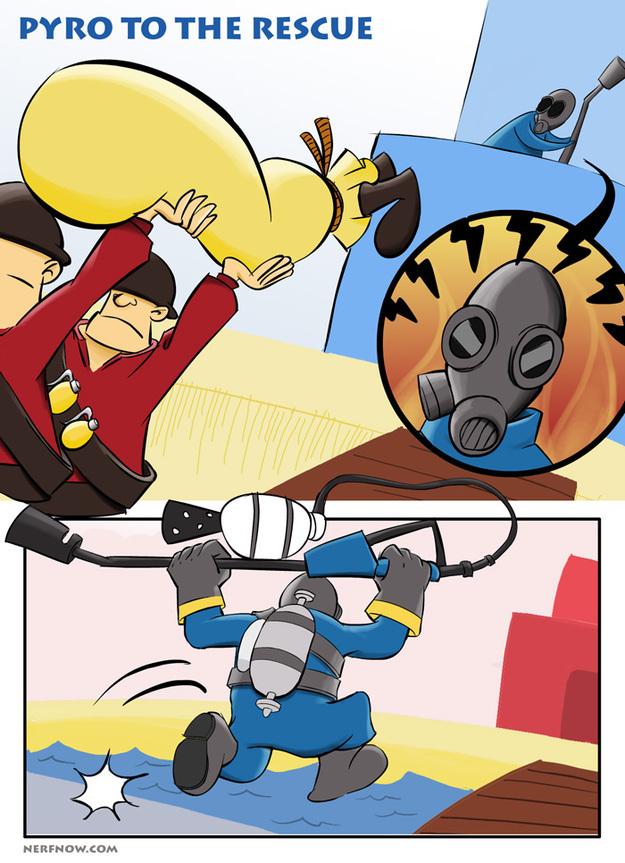 Go Pyro, Go!
