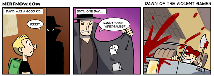 Dawn of the Violent Gamer