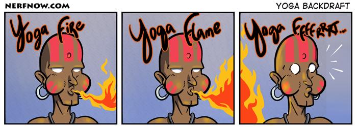 Yoga Backdraft