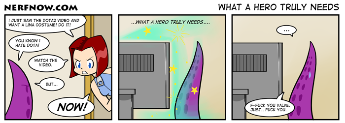 What a Hero Truly Needs