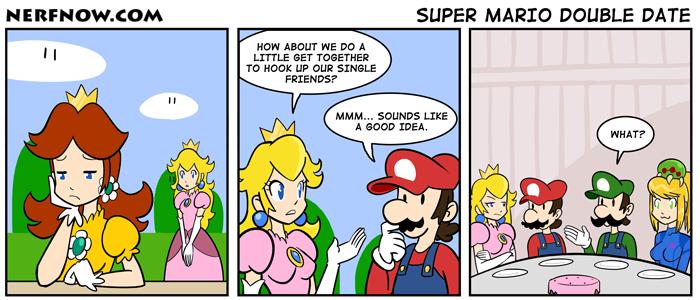 Super Mario Double Date