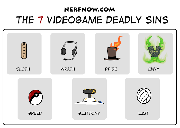 Nerf Now 7 Deadly Sins