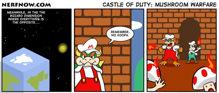 Castle of Duty: Mushroom Warfare