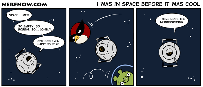 I Was In Space Before It Was Cool