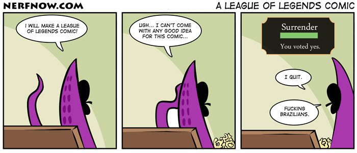 A League Of Legends Comic