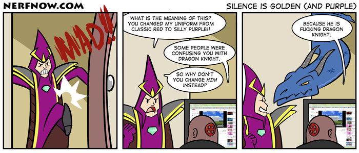 Silence Is Golden (And Purple)