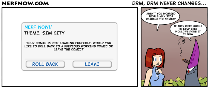 DRM, DRM Never Changes...