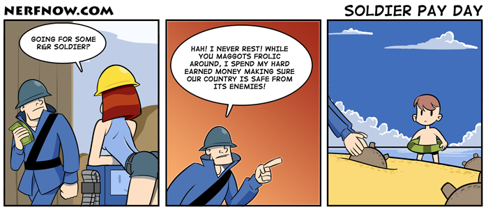 Soldier Pay Day