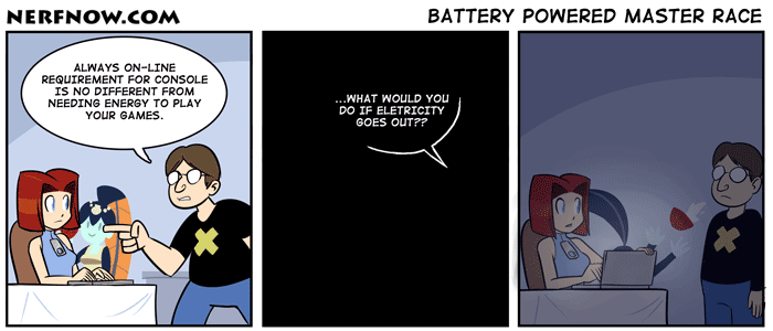 Battery Powered Master Race